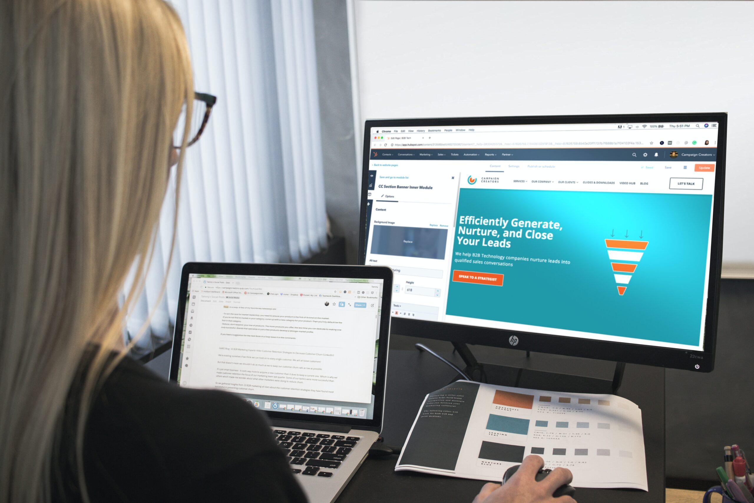 website design web development